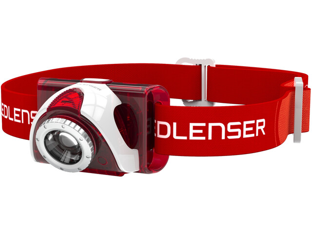 Led Lenser SEO 6 Stirnlampe red